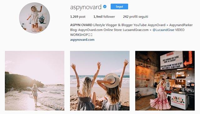 bel profilo instagram