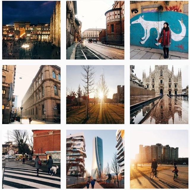 Instagram settore travel