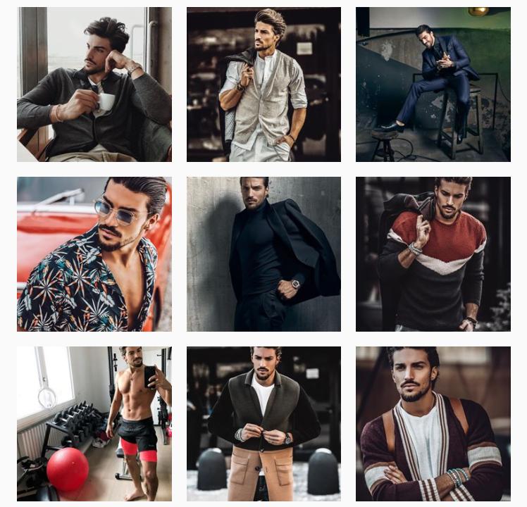 profilo instagram fashion