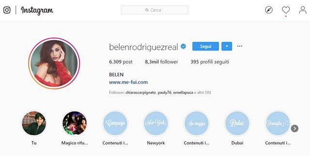 Belen Instagram
