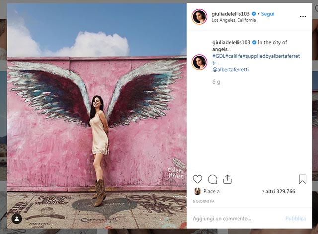Andrea e Giulia De Lellis Instagram