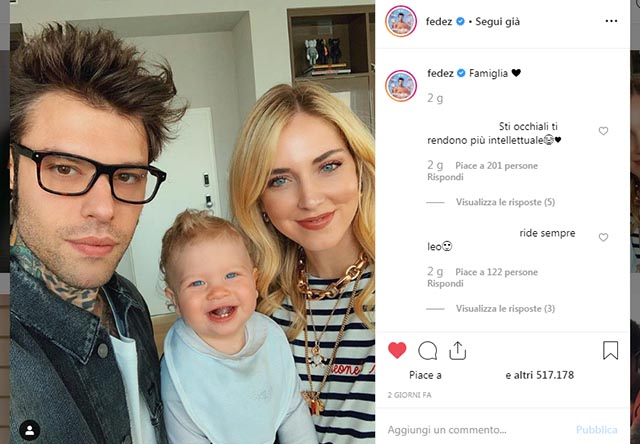 Chiara Ferragni Fedez Instagram