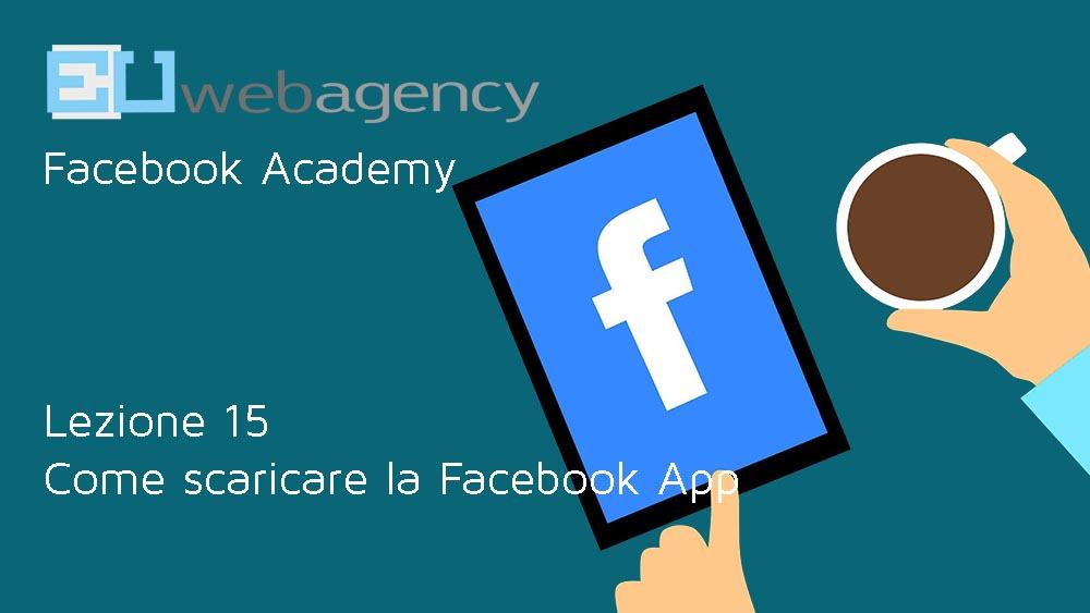 Come scaricare la Facebook App