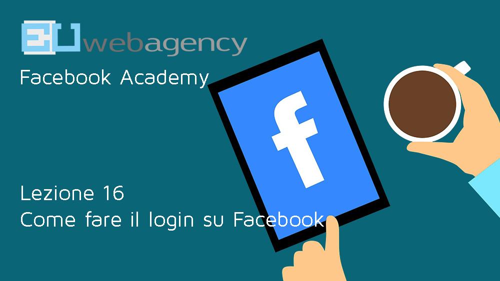 Login Facebook: come accedere alla piattaforma
