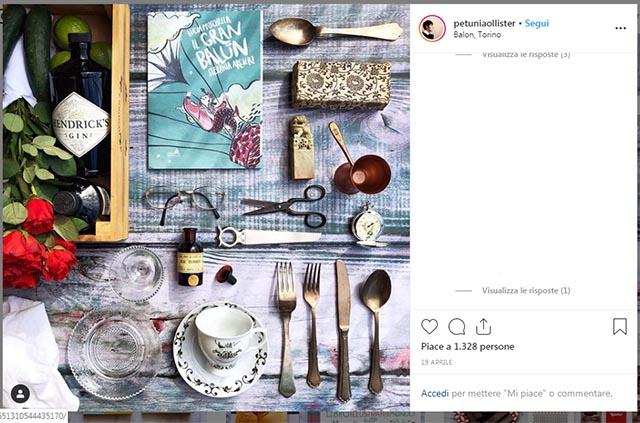 Foto di colazioni su instagram