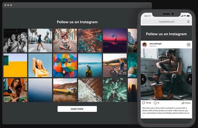 Incorporare contenuti Instagram sito