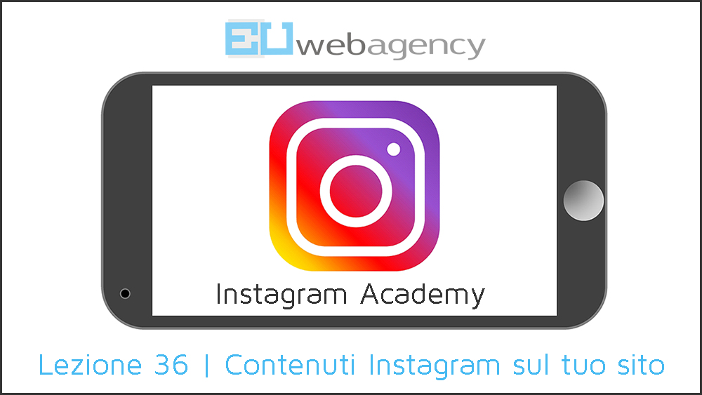 Come incorporare contenuti Instagram sul tuo sito | Instagram Academy | 2019